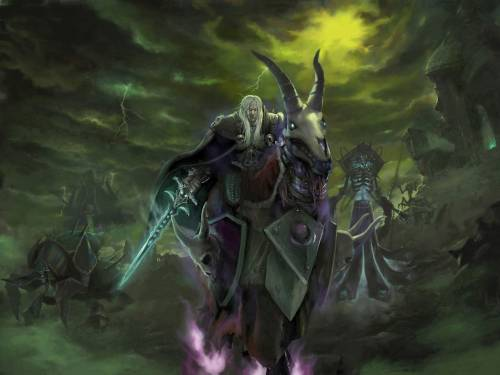 Arthas Артес Варкрафт 3 Арт Pictures Wallpaper